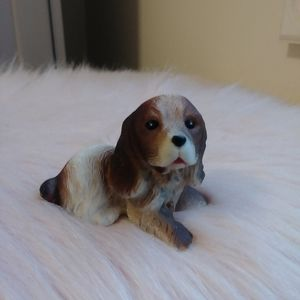 Vintage Beagle Puppy Figurine